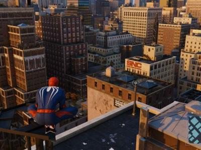 Here's a tip for easily descrambling Spider-Man PS4's towers