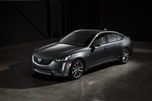 Cadillac CT5 reveal on social media bucks the SUV trend