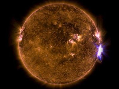 The sun's strongest flare in 11 years might help explain a solar paradox
