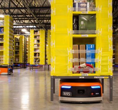 People are horrified by an Amazon patent that puts workers in cages - but an Amazon exec said even 'bad ideas' get submitted
