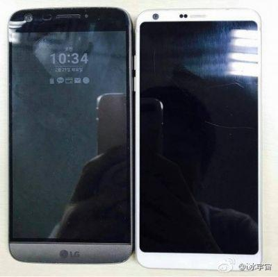 New leak shows off the LG G6 next to last year's G5