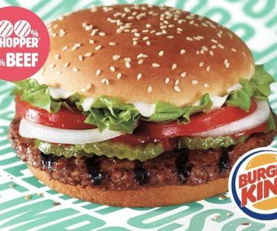 Burger King begins selling the meatless Impossible Whopper