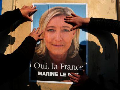 France's far right candidate Le Pen says she lacks election funds, has no Russian backing
