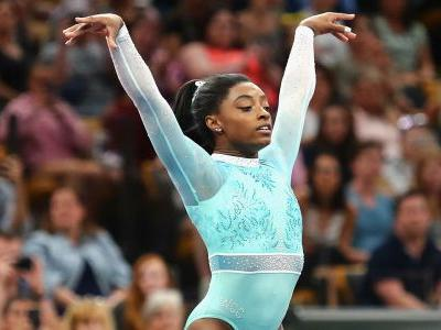 Simone Biles becomes first woman to win five all-around titles at nationals