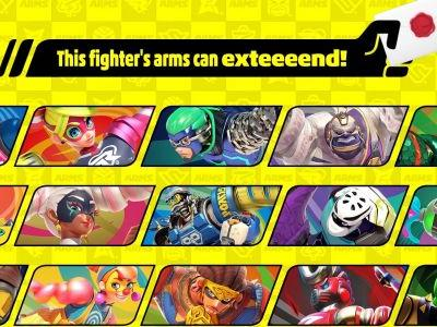 The next Smash Ultimate character is from Arms, will be released in June