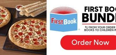 Pizza Hut's First Book Bundle For Giving Tuesday Helps Give Education To Kids In Need