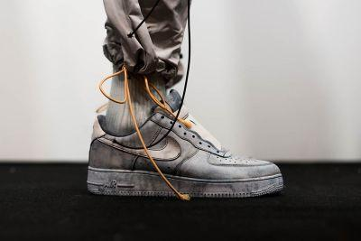 A Closer Look at A-COLD-WALL*'s Bespoke NikeLab Air Force 1s