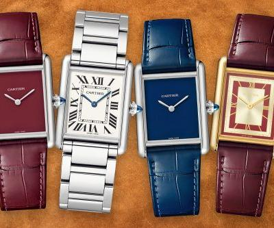 Cartier rolls out new versions of its iconic Tank watches for 2021
