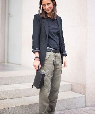 6 of the World's Most Stylish People Show Us How to Wear Cargo Pants Now