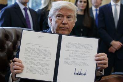 Trump Acts To Advance Keystone XL, Dakota Access Pipelines