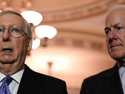 A top Senate Republican just threw cold water on the Hail Mary plan to avoid a shutdown