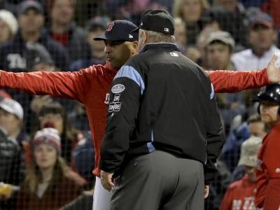 Red Sox manager ejected from Game 1 of ALCS
