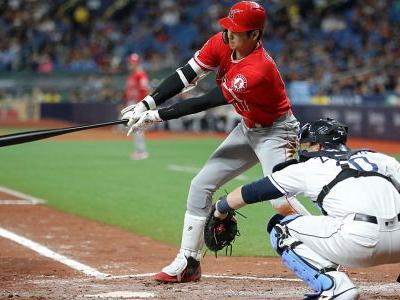 Angels' Shohei Ohtani hits for first-of-its-kind cycle vs. Rays