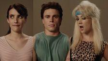 Campy 'American Horror Story: 1984' Teaser Reveals Emma Roberts, Gus Kenworthy Characters