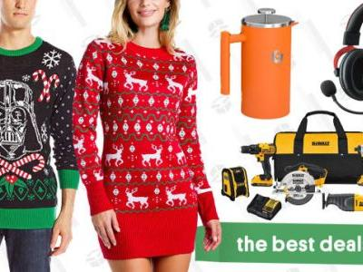 Wednesday's Best Deals: DeWalt Tools, White Noise Machines, Christmas Sweaters, and More