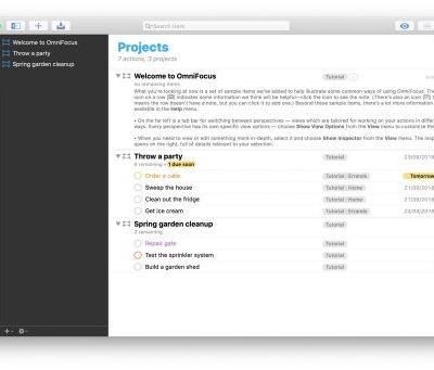 OmniFocus 3 for macOS: A First Look