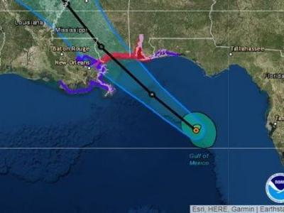 Gordon Is Forecast To Hit Northern Gulf Coast As A Hurricane Tuesday Night