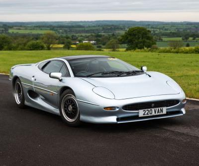 A Set Of Jaguar XJ220 Tyres Costs Over R100,000