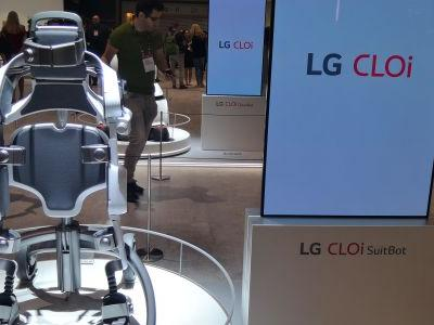 LG's big 'bot plan: to create a network of working robots with 'wearable' SuitBot