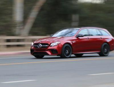 The Sound and the Fury: 2018 Mercedes-AMG E63 S Wagon Tested!