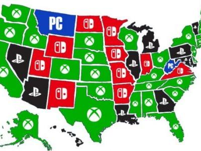 Here's a state-by-state look at which consoles US gamers prefer