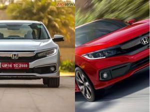 2019 Honda Civic India Vs US-spec Comparo