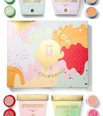ColourPop Debuted a Sweet Collab with Halo Top and I'm Dying Over It