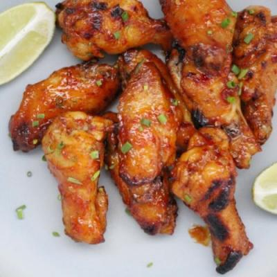 Sweet & Spicy Sambal Chicken Wings