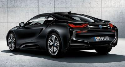 New Special Edition i8 Frozen Black To Join BMW's 5-Series Touring & 4-Series LCI In Geneva