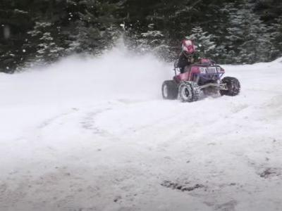 This Motorized Barbie Jeep Kart Is My New Dream Car