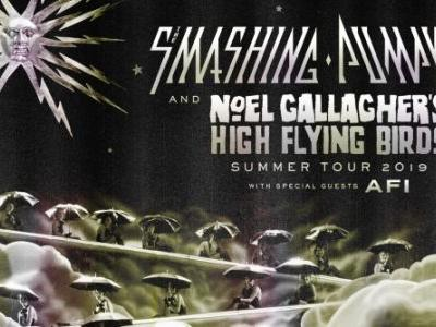 SMASHING PUMPKINS To Team Up With NOEL GALLAGHER'S HIGH FLYING BIRDS, AFI For North American Tour