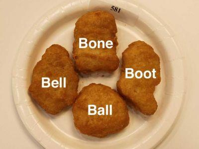 Why McDonald's Chicken McNuggets come in only 4 shapes
