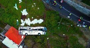 29 killed in tourist bus crash in Portugal