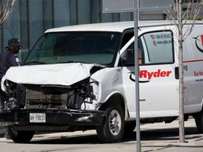 Nine Dead, 16 Injured After Van Strikes Pedestrians On Toronto Sidewalk