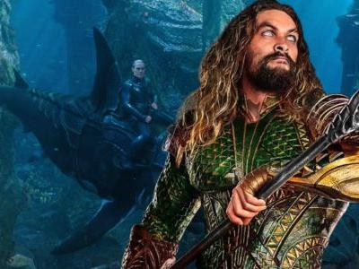Aquaman: Willem Dafoe's Vulko Rides an Armored Shark in New Image