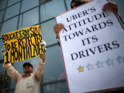 Uber just tried to bury the hatchet with angry drivers - but it dug a deeper hole instead