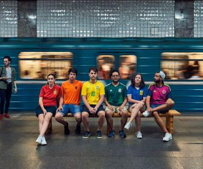 """Activists Create """"Hidden"""" Rainbow Flag to Protest Anti-LGBTQ Laws in Russia During World Cup"""