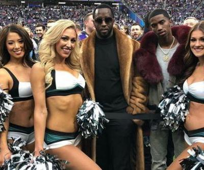 Stars celebrate the Super Bowl