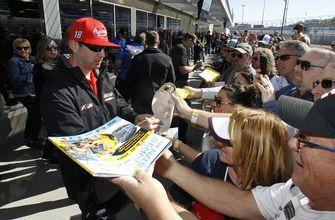 The Latest: Blaney wins opening stage of NASCAR Cup race