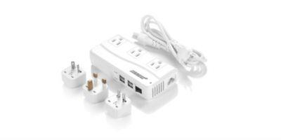 A Universal Travel Adapter and Voltage Converter for the Summer