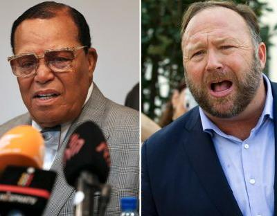 Alex Jones and Louis Farrakhan banned from Facebook and Instagram in crackdown on 'dangerous' extremists