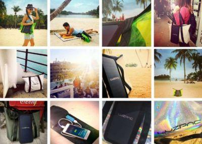 LUZPAC Solar Panel Bag Keeps Your Devices Charged