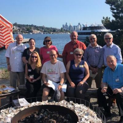A Sunny Happy Hour Gathering of the Seattle Pacific Northwest TCC Chapter