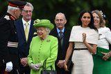 Meghan Markle's Outfit Will Remind You of Her Wedding Dress, and You'll Love It