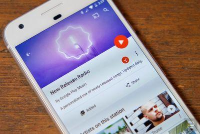 Google Play Music's New Release Radio is available for all users