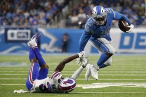 Bills top Lions as key players on both teams injured