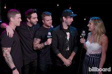 All Time Low Talks Success of 'Last Young Renegade' Album at iHeartRadio Festival