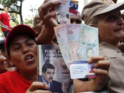 Socialist Maduro seeks to raise dollars with appeal to greed