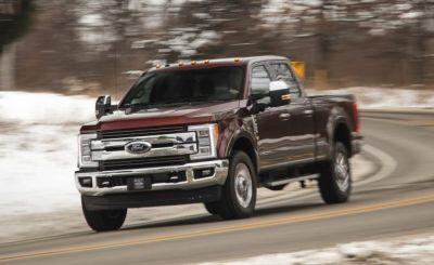 2017 Ford F-350 Super Duty 6.7L Diesel V-8 4×4 Tested: New Steering, New Body, New Engine