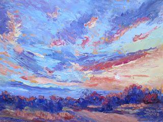 Fascinating Formation, New Contemporary Landscape Painting by Sheri Jones